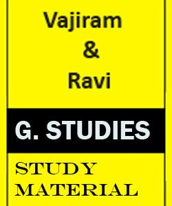 Vajiram and Ravi study material for GS