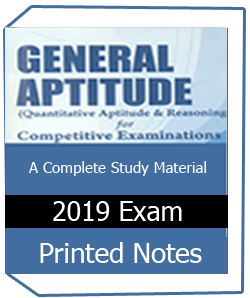 Printed notes of Quantitative Aptitude Book