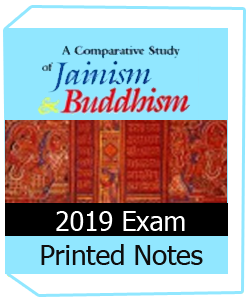 Printed Notes of Jainism & Bhuddhism