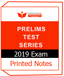 Printed Notes of INSITEONINDIA PRELIMS TEST SERIES