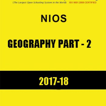 NIOS-Geography Part-2 Study Material for Examination