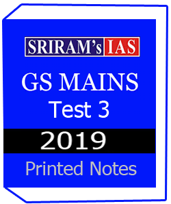Printed Notes of SRIRAM GS- MAINS TEST -3