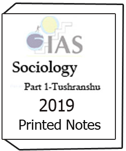Printed notes of Sociology Part-1 Tushranshu