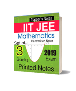 Printed Notes of IIT JEE Toppers Handwritten Notes - Mathematics (Set of 3 Books)