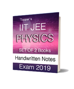 Printed Notes of IIT JEE Toppers Handwritten Notes - Physics (Set of 2 Books)