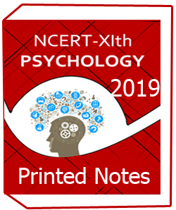 Printed Books of NCERT-XIth PSYCHOLOGY