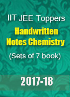 IIT JEE Toppers Handwritten Notes - Chemistry Set of 7 Books