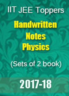 IIT JEE Toppers Handwritten Notes - Physics Set of 2 Books