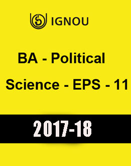 IGNOU BA Political Science EPS 11 Downloadable Version