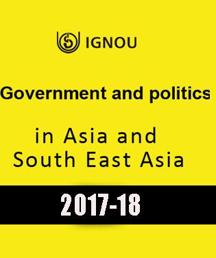 IGNOU Government & Politics in Asia and South East Asia