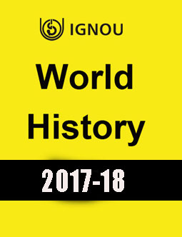 World History- IGNOU