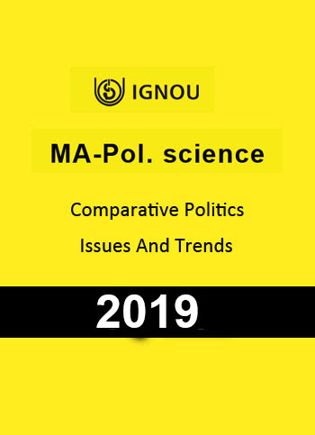 MA Pol Science Comparative Politics Issues & Trends