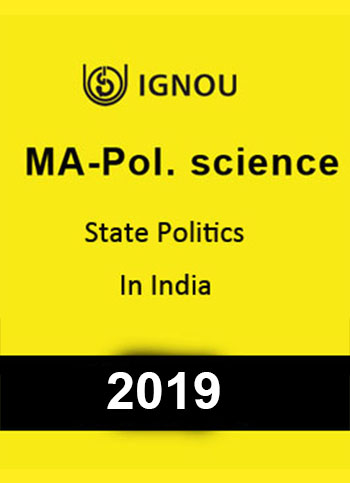 MA Pol Science- State Politics in India