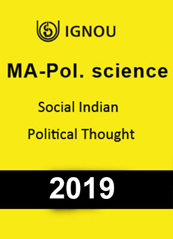 MA Pol.Science Western Political thought