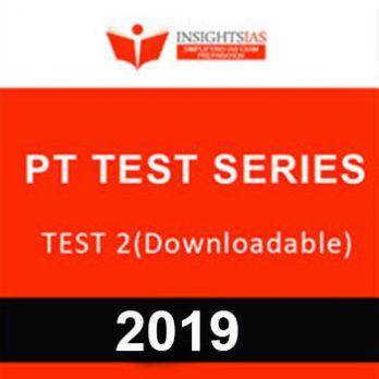 PT TEST SERIES 2019-TEST 2