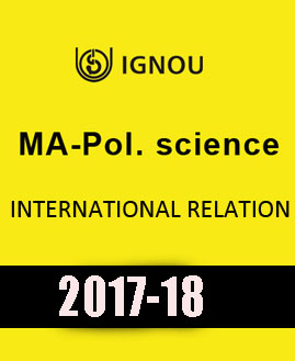 IGNOU MA Pol Science International Relation