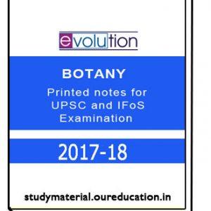 EVOLUTION-BOTANY