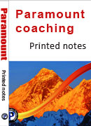 Paramount coaching Printed notes