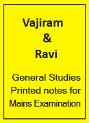 General Studies Printed notes Vajiram and Ravi yellow books for IAS Mains and PT Examination.image.