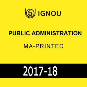 IGNOU PUBLIC Administration MA Printed