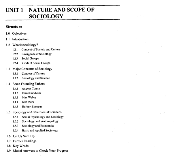 sociology study notes Cbse (ugc) net study material browse  -net: comprehensive, point-wise and updated study material and exam notes ncert lectures study  sociology study.