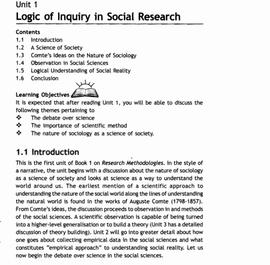 IGNOU BA Sociology Study Material (Free Delivery) - Notes ...