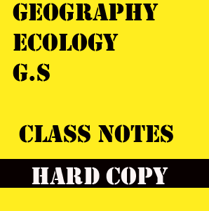 Vajiram Manocha Sir G.S Class notes Geography Ecology