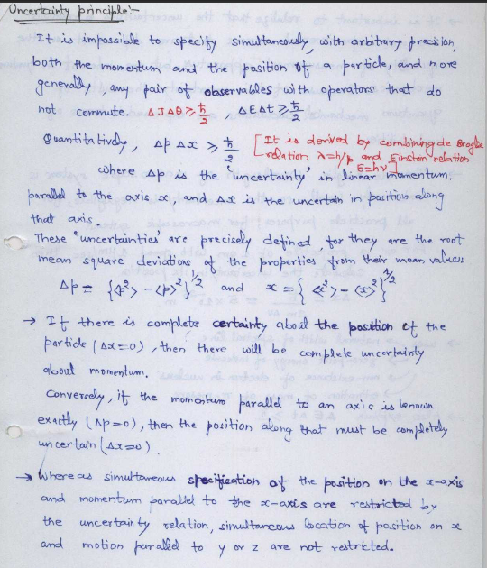 Chemistry-Handwritten notes of IAS Topper Abhijeet Agarwal-Hard Copy