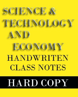 Vajiram Science Technology and Economy Class Notes
