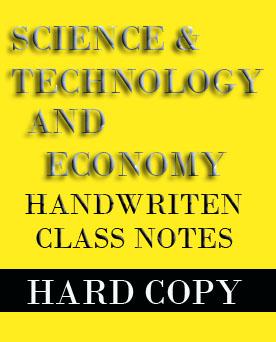 Vajiram Science Technology and Economy Class Notes