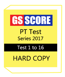 GS Score PT Test Series 2017 From Test 1 to 16 With Answers