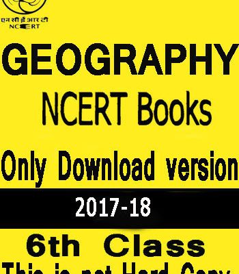NCERT Social Science (GEOGRAPHY) Book For Class VI