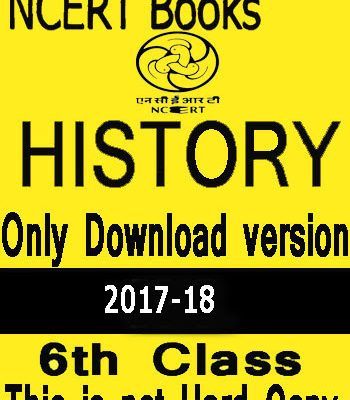 NCERT Social Science (HISTORY) Book For Class VI