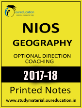 GEOGRAPHY PART 1 Printed Notes 2017 by NIOS