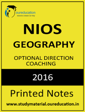 GEOGRAPHY PART 1 Printed Notes 2016 by NIOS