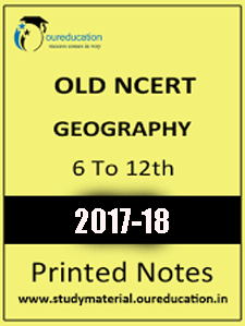 OLD NCERT Geography STD 6 to 12 Study Material