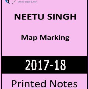 Geography Map Marking by Neetu Singh