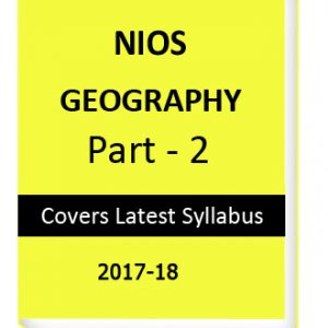 NIOS GEOGRAPHY part-2