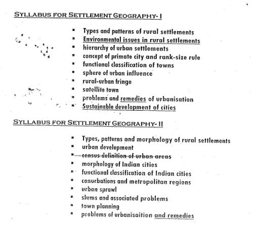 Neetu Singh Geography Optional Notes