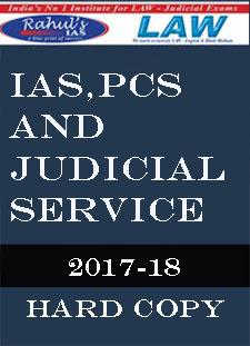 Rahul IAS Class Notes IAS PCS and JUDICIAL services