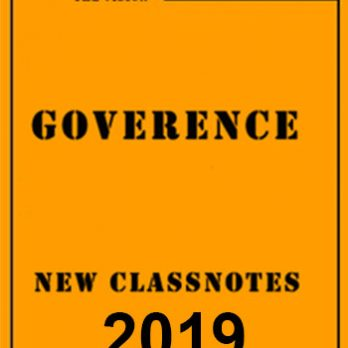 Governance New Class Notes