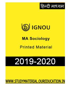 MA-SOCIOLOGY