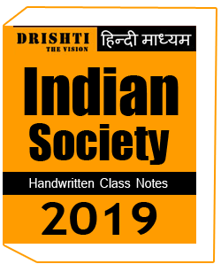 Printed Notes of Indian Society Drishti IAS