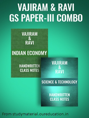 Vajiram and Ravi-GS PAPER 3 COMBO