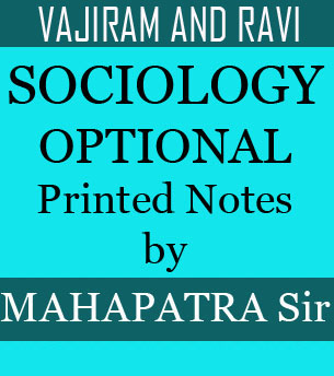 Sociology Optional Mahaptra Sir Vajiram And Ravi