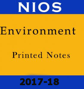 Environment Printed Notes NIOS