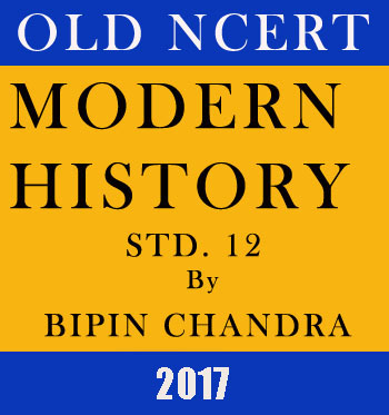 MODERN History Old NCERT - Bipin Chandra – STD.12