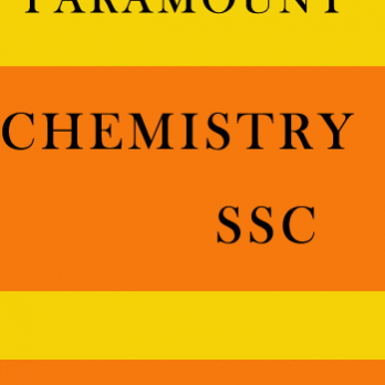 Chemistry Printed Notes for SSC Paramount