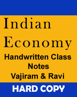 Indian Economy- Handwritten Class Notes- Vajiram & Ravi