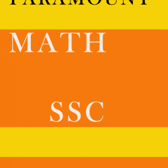 Math Printed Notes for SSC Paramount